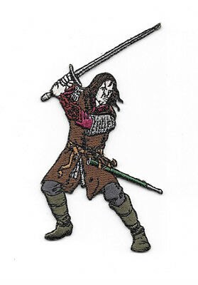 The Lord of the Rings Aragorn Figure Embroidered Patch, NEW UNUSED