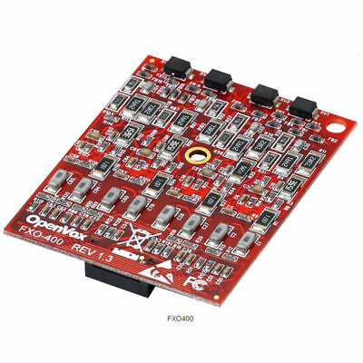 OpenVox FXO400 Quad FXO Module for A2410E/P & A1610E/P & A810E/P base board card