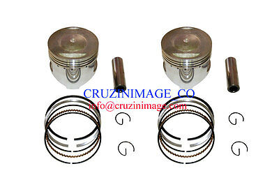 SUZUKI RG400 GAMMA 0.5mm OVERSIZE PISTON SETS 10-RG400PS-1