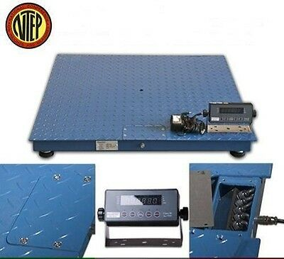 5000 Lbs NTEP Industrial Floor Scale Legal Trade 4' X 4' 1 Lb Accuracy Free Ship
