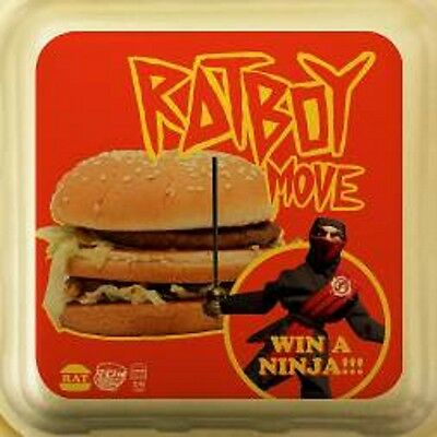 """Ratboy - Move - New 7"""" Pic Disc"""