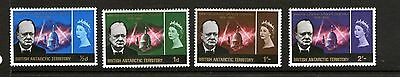 British Antarctic Territory 1966 Churchill Commemoration Set 4