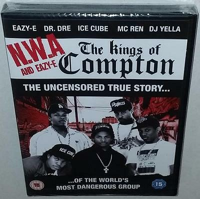 Nwa & Eazy-E The Kings Of Compton (2016) Brand New Sealed R2 Dvd N.w.a. Dr Dre