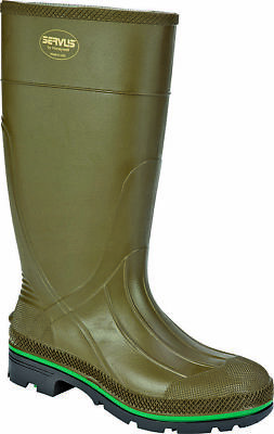 Servus Northerner 75120-11 Non-Insulated Knee Boot, NO 11, Men's, Olive Green, P