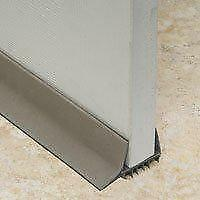 Frost King UDB77 Slide-On Door Sweep, PVC, Brown