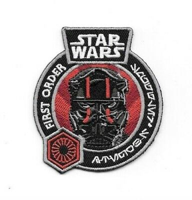 Star Wars The Force Awakens Tie Fighter Pilot Embroidered Patch  NEW UNUSED