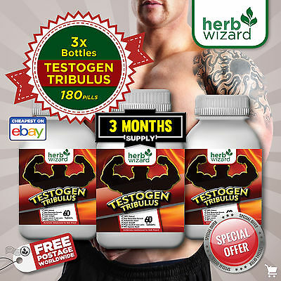 180 Hardcore Tablettes Anabolique Tribulus Terrestris Booster De Testostérone
