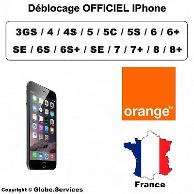 Déblocage Désimlockage Unlock Code IPHONE / IPAD Orange FRANCE CLEAN ) - EXPRESS