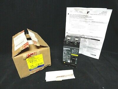Square D * Circuit Breaker * Part Number Fal26040 * 40 Amp * N3W In The Box