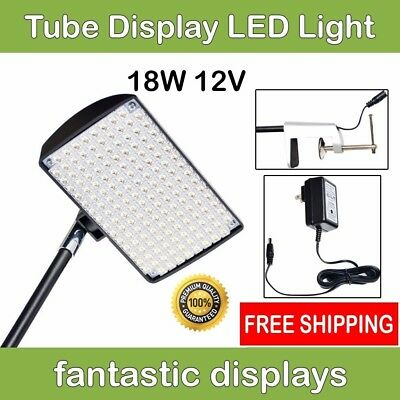 LED Light Spotlight for TUBE Pop Up Tradeshow Displays - BRIGHT 18W