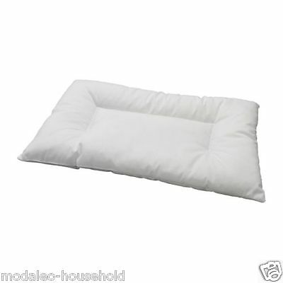 IKEA LEN White Machine-Washable Pillow For Cot For Babies 12 Months 35x55cm-B786