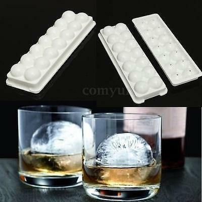 14 Slots Ice Ball Cube Tray Freeze Mould Molds Bar Pudding Jelly Chocolate Maker