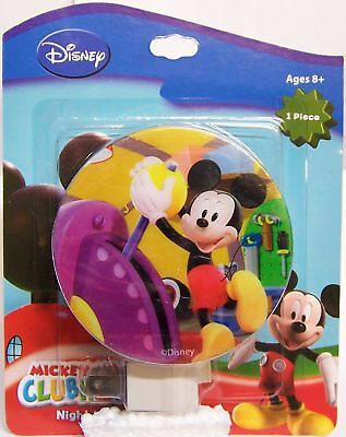 NEW Sealed Disney Mickey Mouse Clubhouse Night Light Nite Lite