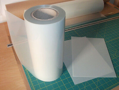 Mylar stencil roll 350 microns sold per meter x 297mm - strong durable mylar