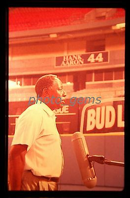 Hank Aaron Chasing the Dream Original 35mm Color Promo Slide