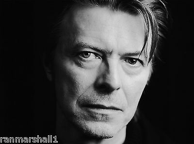 David Bowie B & W #3 Pop Rock Star 10 x 13.5 inches  Advertisement Poster
