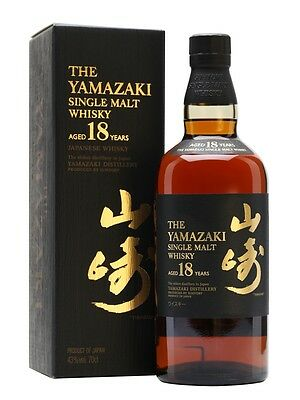 Suntory Yamazaki 18 Year Old Japanese Single Malt Whisky 700ml