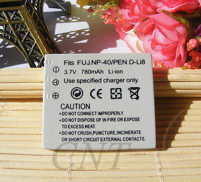 NEW NP-40 Battery FOR Fuji Fujifilm FinePix F402 F455 F460 F480 F610 F650 Zoom