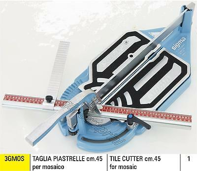 Tile Cutter Sigma 3Gmos For Mosaic 45 Cm Machine Manual Professional