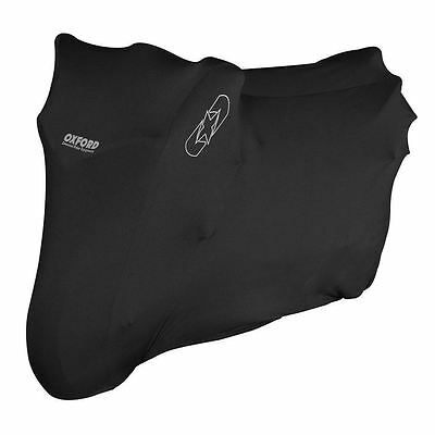 Oxford Protex Premium Stretch Motorcycle Cover Indoor Motorbike Dust XL New