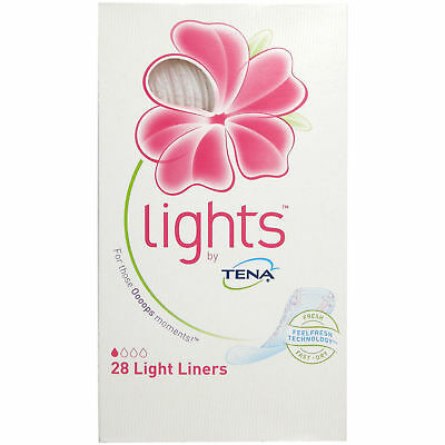 Tena Lights Panty Liners 28 Liners