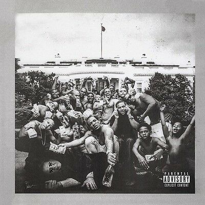 To Pimp A Butterfly - Kendrick Lamar (2015, CD NUOVO) Explicit Version