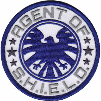 Marvel Comics Agent Of S.h.i.e.l.d. Embroidered Patch 3 1/4""