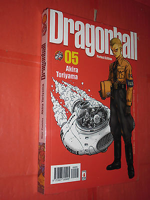 DRAGON BALL-PERFECT EDITION- N°5- DI:AKIRA TORIYAMA -MANGA STAR COMICS- gold