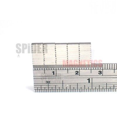 Tiny neodymium block magnets 5mm x 1.5mm x 1mm strong thin neo magnet 5x1.5x1 mm