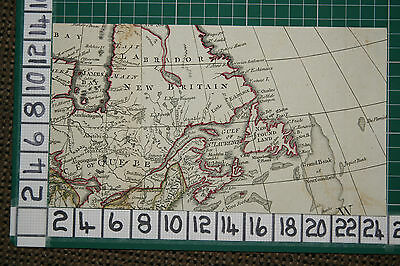 1782 Antique  Map Labrador Newfoundland James Bay Robert Sayer ~ Thomas Kitchin