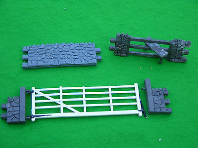 Britains Farm, Dry Stone Wall Sections