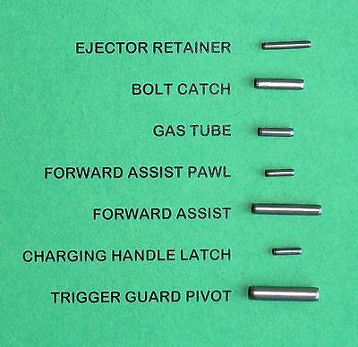 21 Roll Pins Combo Pack--Three 7-Pin Sets For 3 Rifles....best Deal Anywhere!!!!