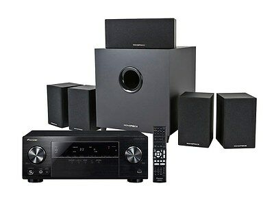 Complete 5.1 Home Theater System with Subwoofer and Pioneer VSX-524-5 700 Watt