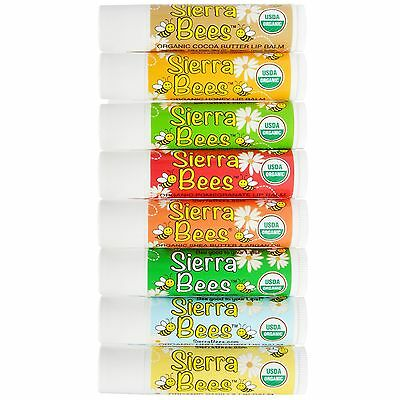 100% Certified Organic Lip Balm Sierra Bees Natural Made In The Usa Vitamin E