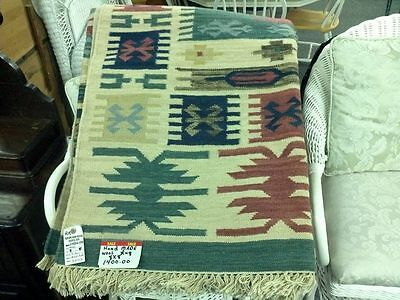 Hand Made Whool Indian Rug