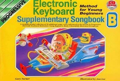 Progressive Young Beginners' Electronic Keyboard Supplementary Songbook B & CD