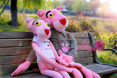 Giant Soft huge 160cm 6 size 5 color pink panther Stuffed Plush Animal Toy 39