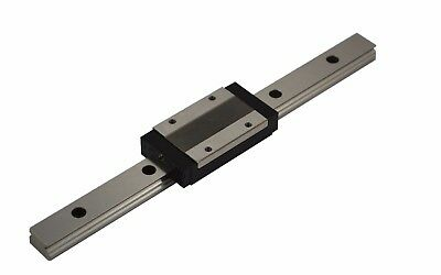 Miniature Linear Guide - Recirculating Ball Bearing Guide mr12-ml (Rail + Car)