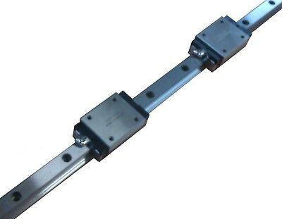 Linear Guide - Recirculating Ball Bearing Guide - HRC15-MN-S (Track + Wagon)