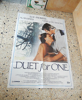 Manifesto Duet For One Julie Andrews Alan Bates Max Von Sydow 2F K
