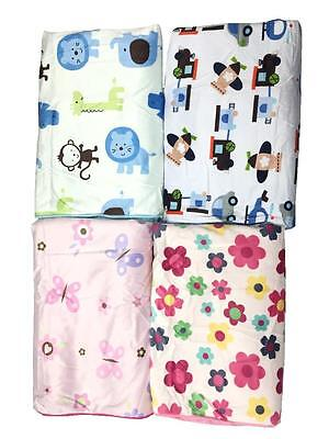 NEW Super Soft Fleece Baby Blanket Cosy Warm Bedding Cot Pram Cover 0-12m Wrap