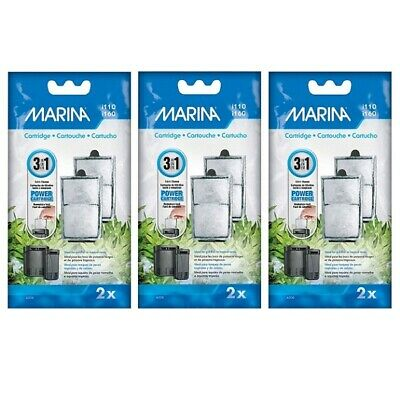 Marina i110 / i160 Power Filter Cartridge - Three Packs of Two