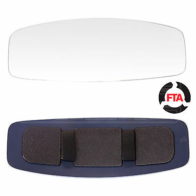 Extra Large Clip-on Panoramic Rear View Mirror for buses, coaches & HGVs RV-103