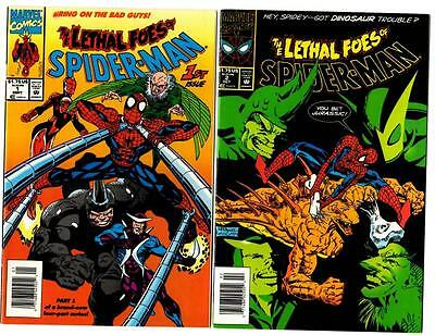 The Lethal Foes of Spider-Man #1-4 (1993) Marvel VF/VF-