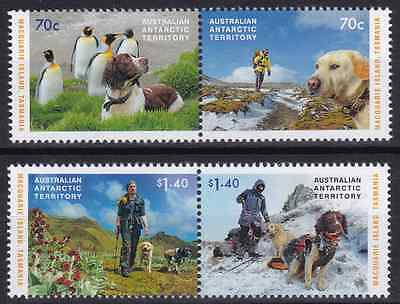 AAT - 2015 - The Dogs That Saved Macquarie Island. Complete set, 4v. Mint NH
