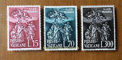 EBS Vatican City Città del Vaticano 1961 St Leo the Great 301-303**