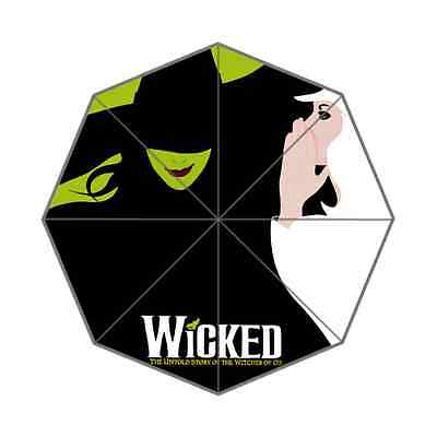 Wicked Witch The Musical Foldable Umbrella Universal Rain Umbrella