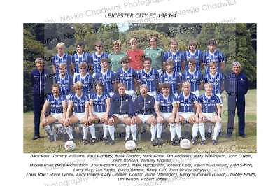 Leicester City Team of 1983-84 Photo