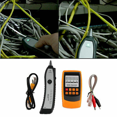 Cable Tester Tracker Phone Line Network Finder RJ11 RJ45 Wire Tracer  AQ