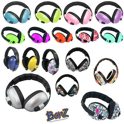 BABY BANZ EAR DEFENDERS For Children 3 months+ Ear Muffs - FREE UK P&P!